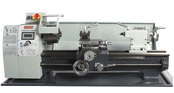 Общий вид токарного станка MML 250x550