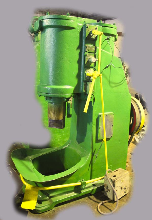 Общий вид ковочного молота МВ-412