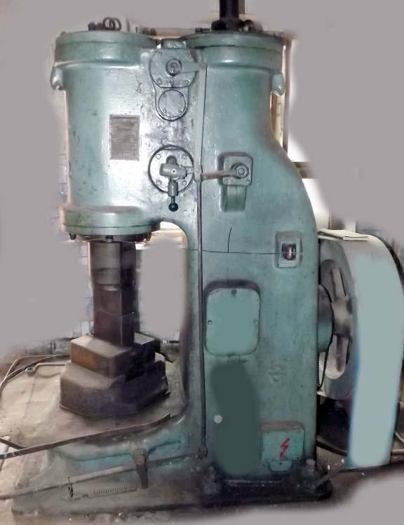 Фото ковочного молота МВ-412