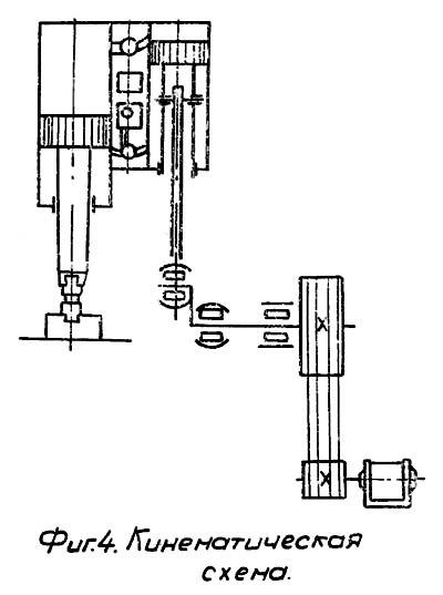 МВ-412 Схема кинематическая ковочного молота