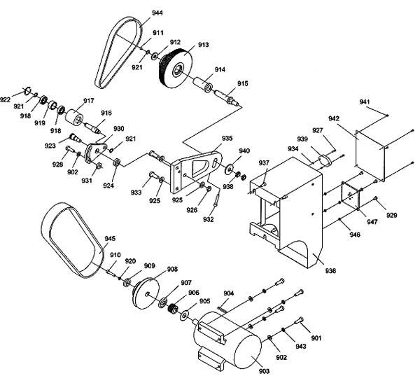 Профи 550 Схема сборки привода и гитары токарного станка