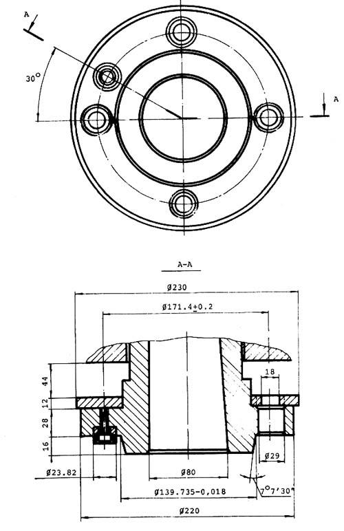 С11МТ Станок токарно-винторезный. Габариты рабочего пространства