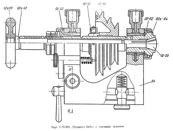С-95 Передняя бабка токарного станка