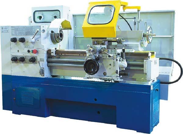 Samat 400 универсальный токарно-винторезный станок. Фотография станка