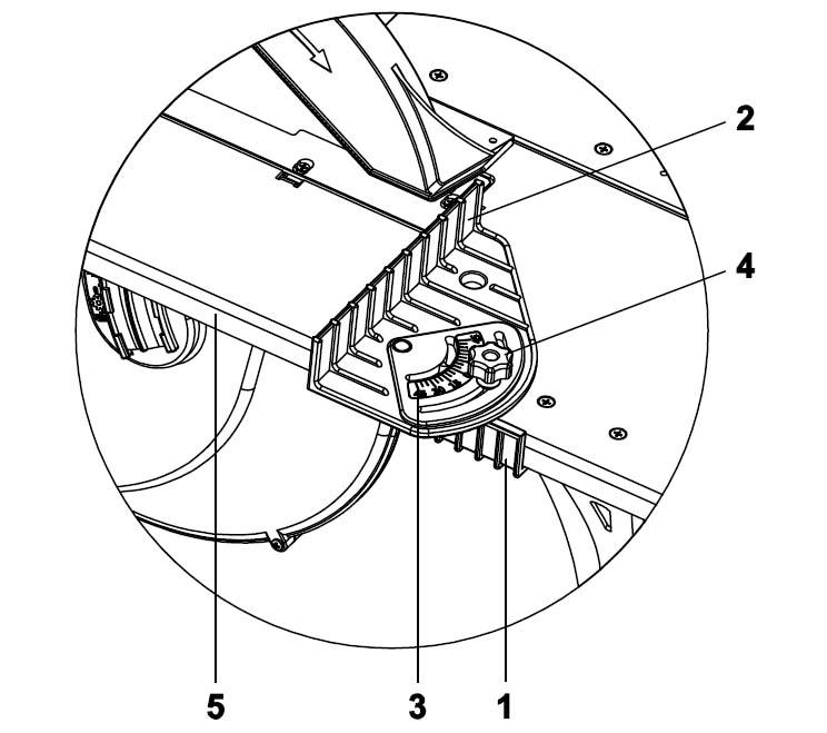 Конструкция приспособления для поперечной распиловки под углом на комбинированном станке СДМ-2000