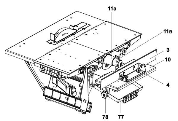 Установка концевой фрезы или сверла на комбинированный станок СДМ-2200