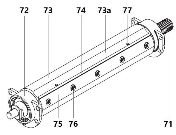 Конструкция ножевого вала на комбинированном станке СДМ-2000