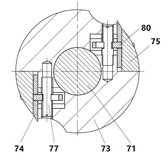 Регулировочное устройство ножей на комбинированном станке СДМ-2000