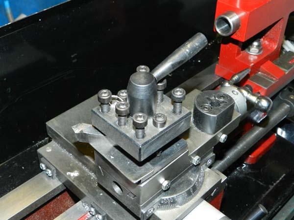 СТМН-550 Фото резцовых салазок и резцедержки токарного станка СТМН-550
