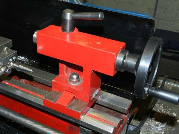 СТМН-550 Фото задней бабки токарного станка