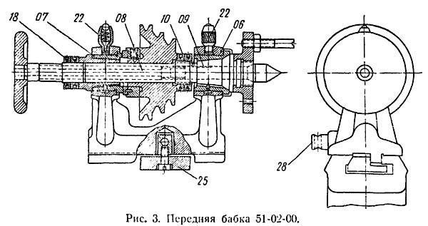 Т-65 Передняя бабка токарного станка