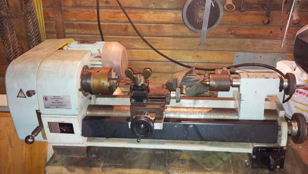 ТН-1 Общий вид токарно-винторезного станка