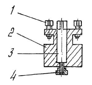 Неподвижная резцедержка станка ТН-1