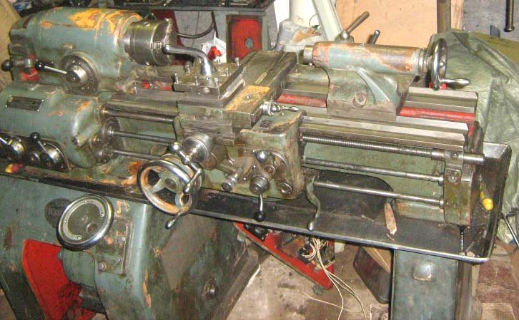 Общий вид токарно-винторезного станка ТС-135