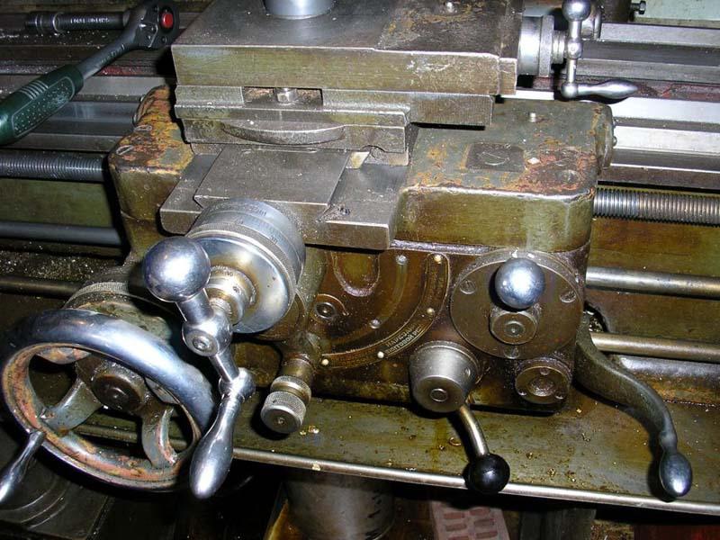 Фото токарно-винторезного станка ТС-135