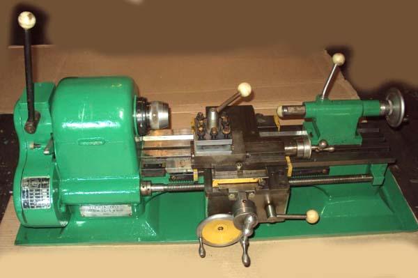 Общий вид токарного станка ТС-1