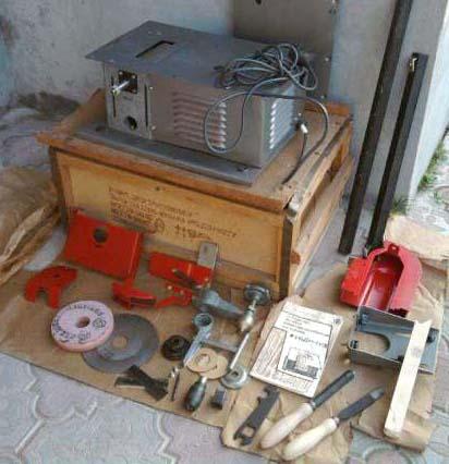 Комплект поставки деревообрабатывающего станка УБДН-1
