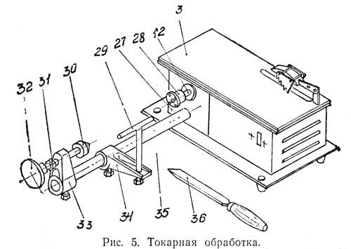 Токарная обработка на комбинированном станке УБДН-1