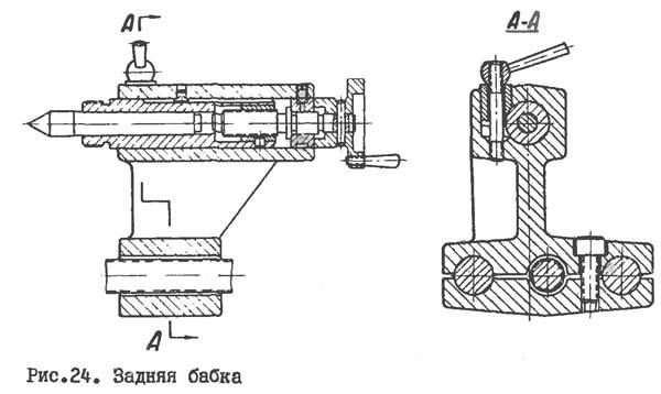 Универсал-2 Задняя бабка токарного станка