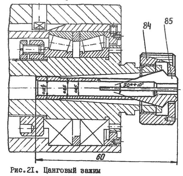 Цанговый зажим токарного станка Универсал-2