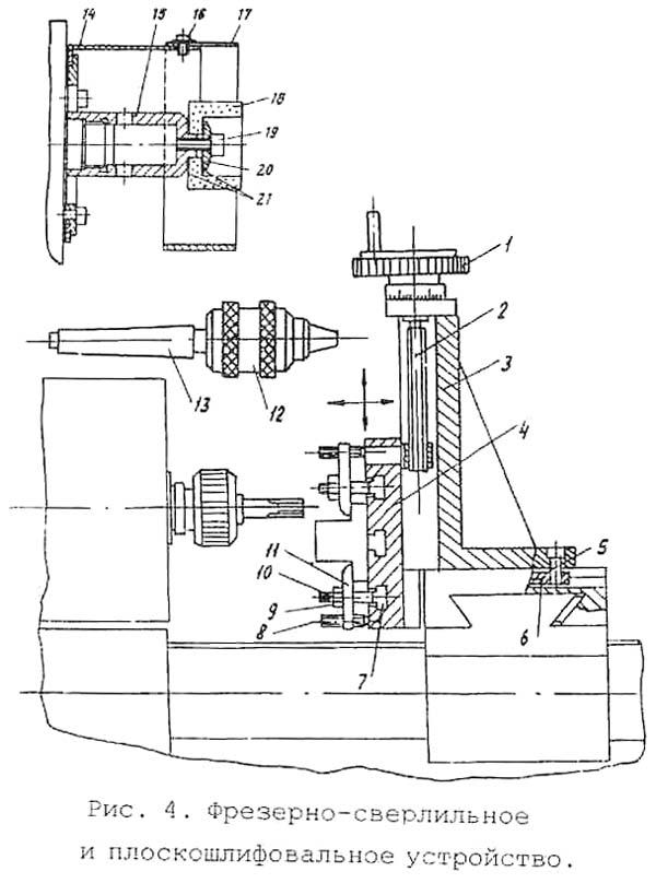 Универсал-В Фрезерно-сверлильное устройство многофункционального станка
