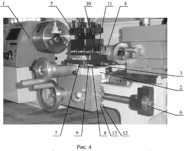TL-180 Расположение составных частей токарного станка