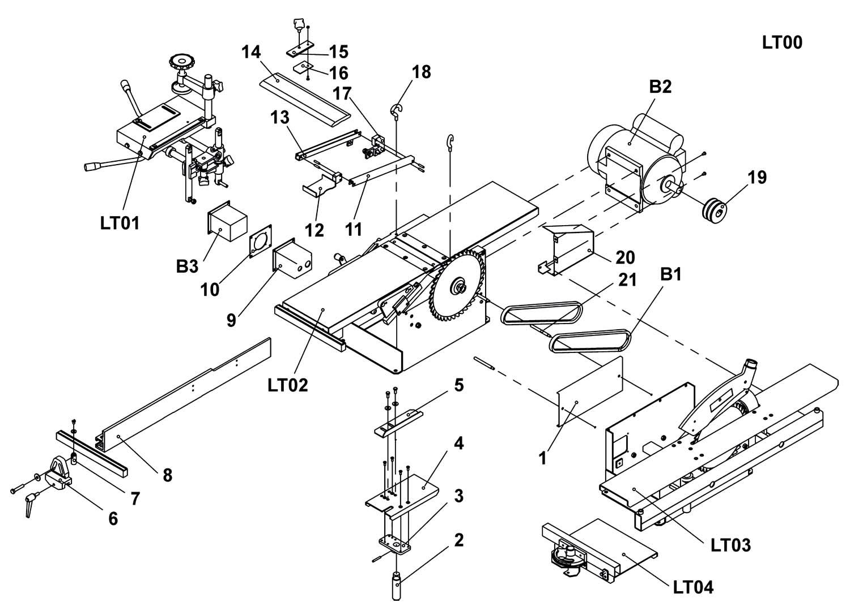 схема расположения ножей рубильной машины дерева