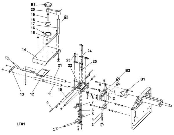 Схема сборки станка WM-Multi-03 №2