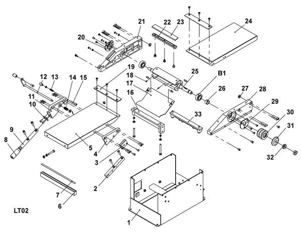 Схема сборки станка WM-Multi-03 №3