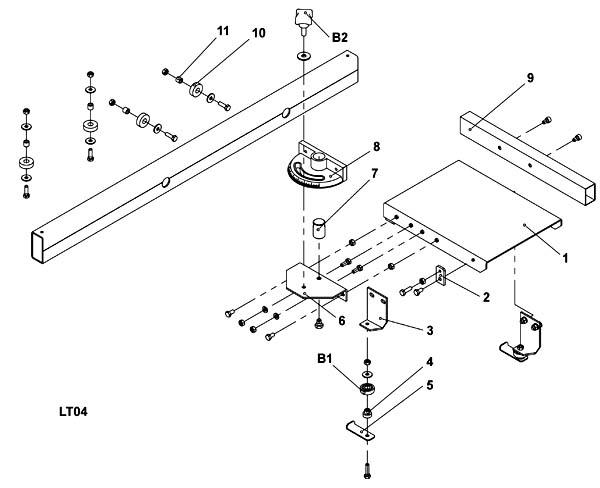 Схема сборки станка WM-Multi-03 №5