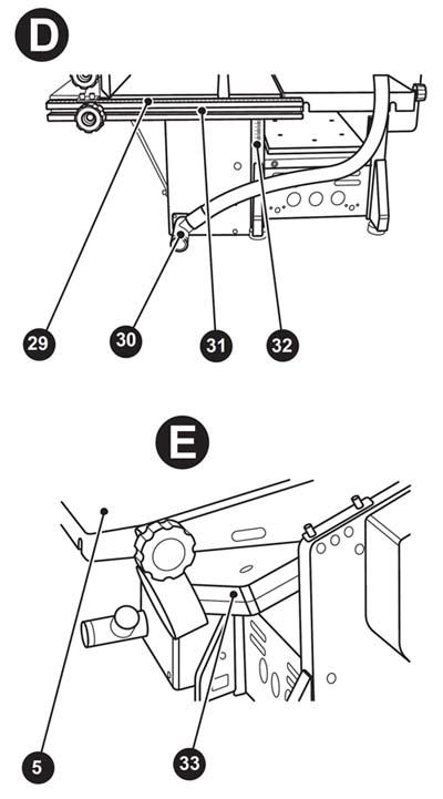 ПСостав комбинированного станка WM-Multi-08 (Рис.D, E)
