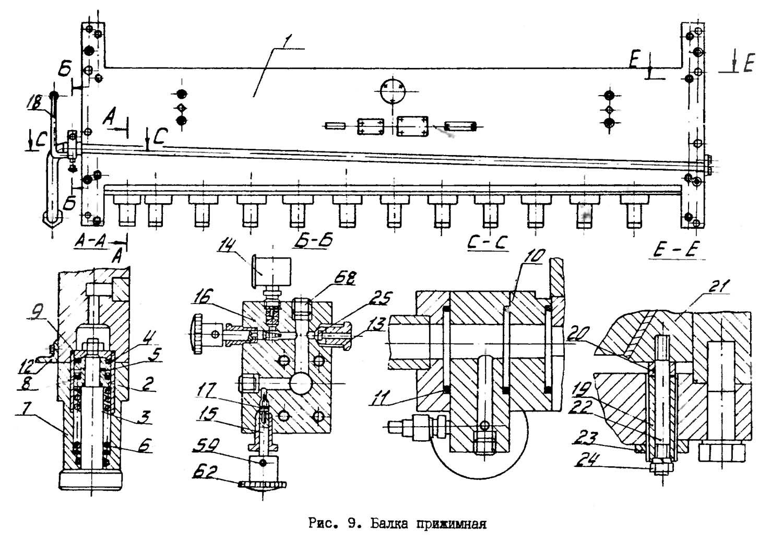 Электросхема ножниц дисковых