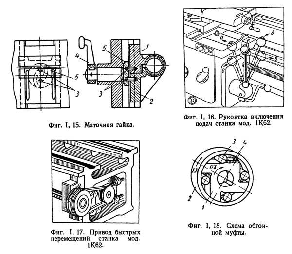 Фартук токарно-винторезного станка
