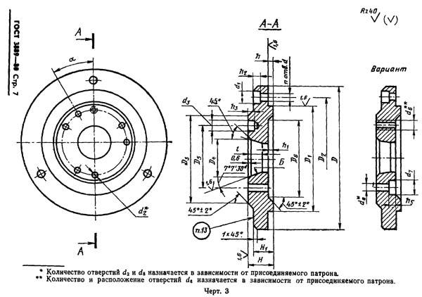 Шпиндель с патроном токарного станка